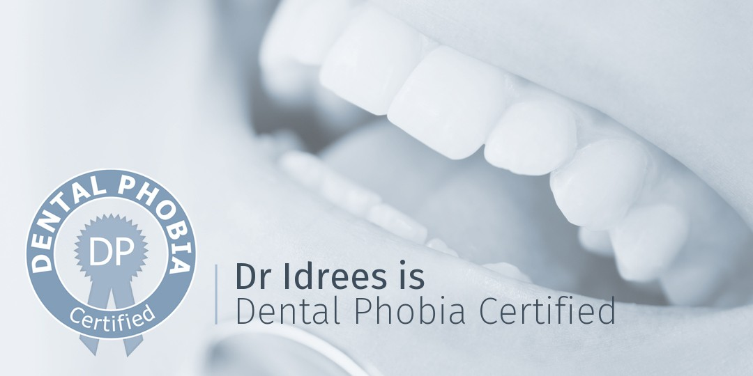 nervous patients - dental phobia certified